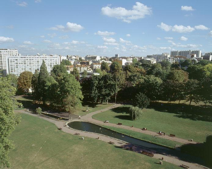demeure de la duchese de Mortemart ; asile d'aliénés du docteur Falret ; parc Frédéric-Pic