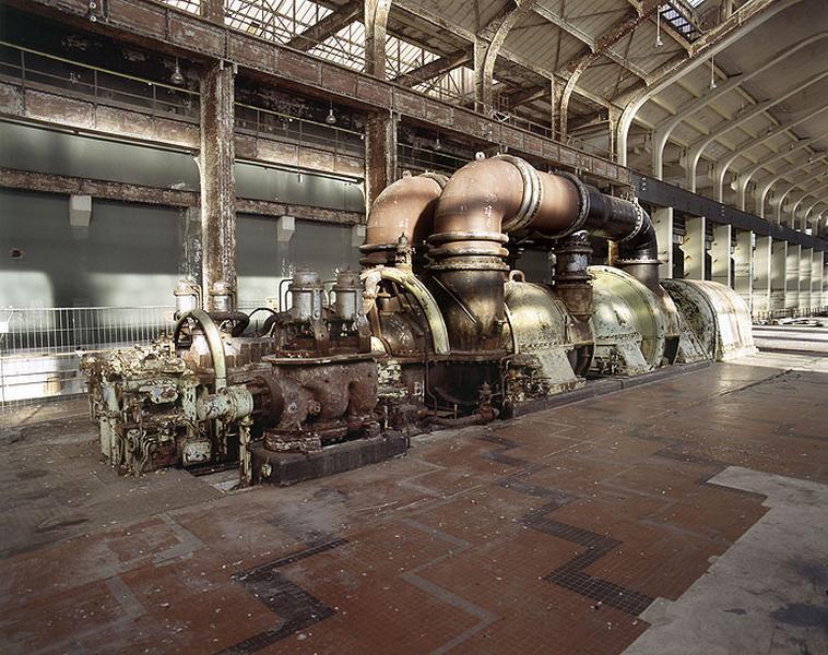 turbine à vapeur et alternateur triphasé : turbo-alternateur (tranche 3)
