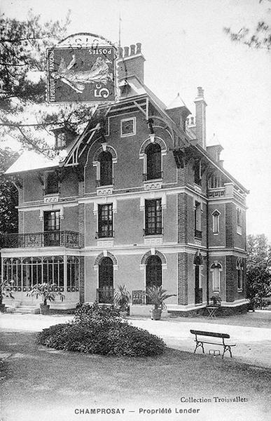 maison de villégiature dite Villa Lander