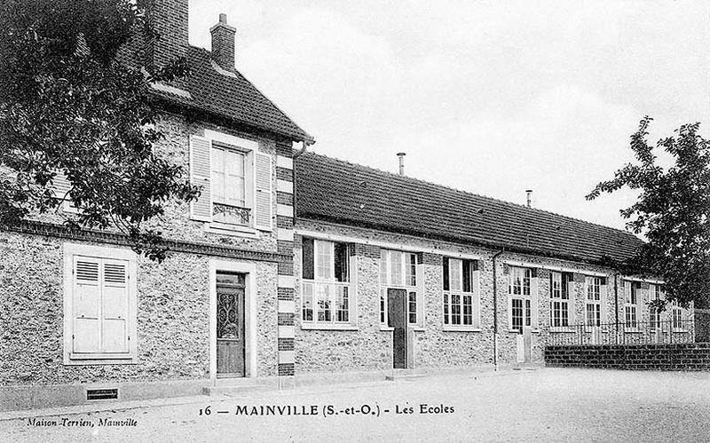 école primaire de Mainville