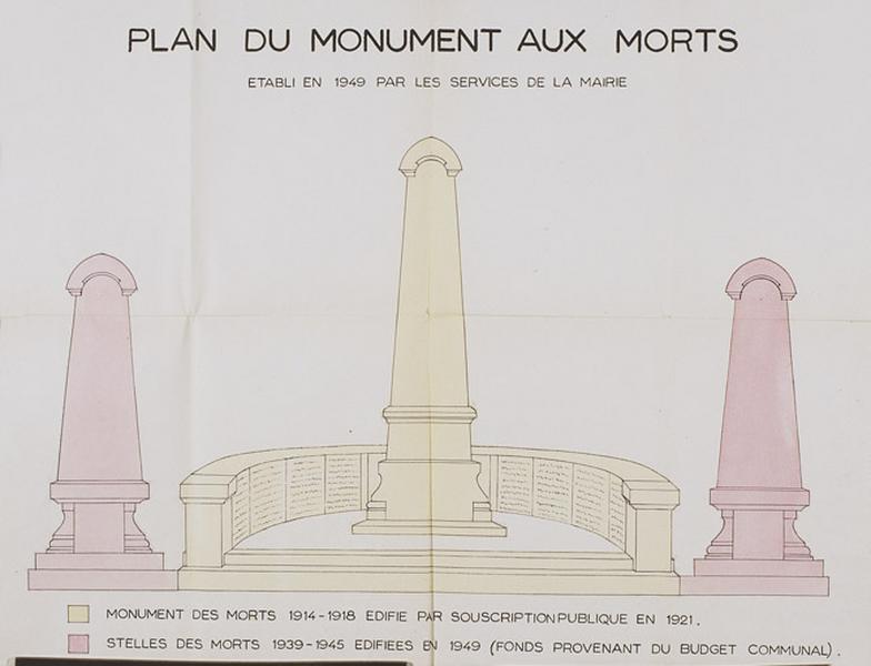 Monument aux morts des guerres de 1914-1918 et de 1939-1945