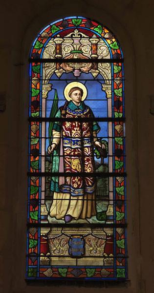 verrière : saint Vincent (baie 7)