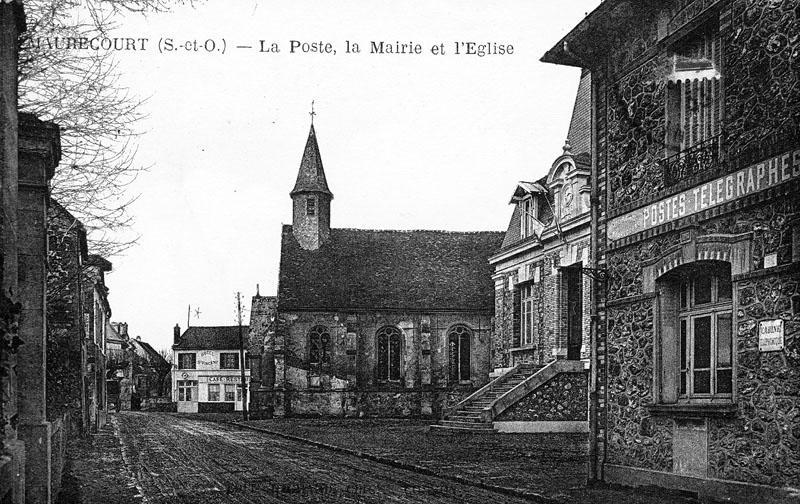 Mairie ; église paroissiale