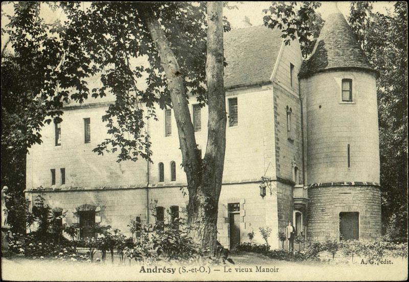 maison de notable dite le Vieux manoir (vestiges)