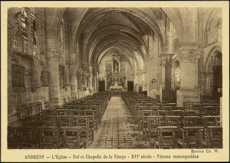 autel ; retable de la chapelle de la Vierge