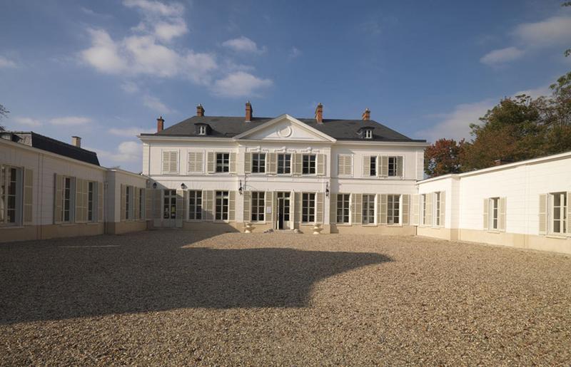 château de Villiers, actuellement bibliothèque municipale et centre culturel