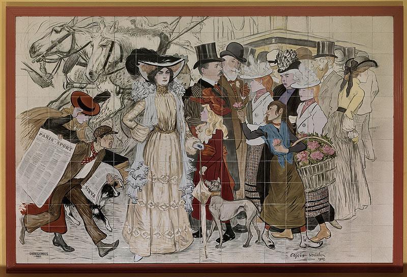carrelage mural : Le Boulevard