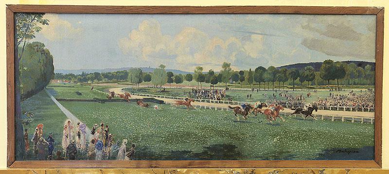 peinture Course à Enghien