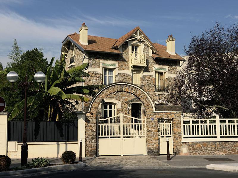 Maisons et immeubles d'Enghien-les-Bains