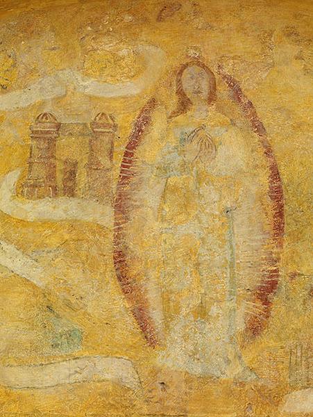 peinture murale : Vierge des Litanies