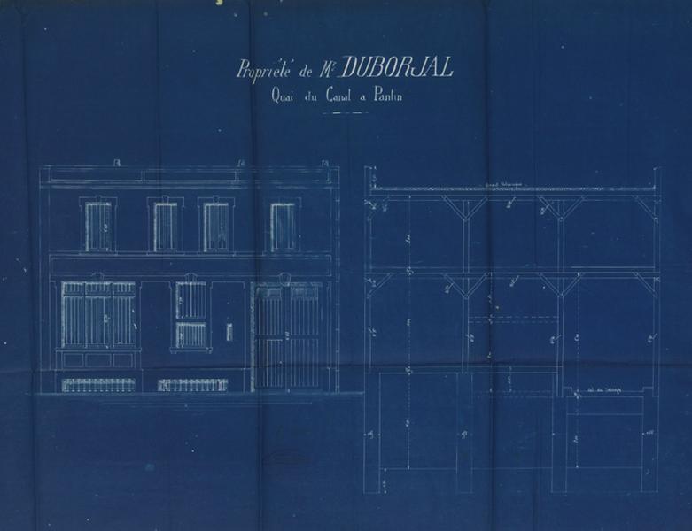 Entrepôt industriel Duborjal, puis atelier de literie de la société Alberio.