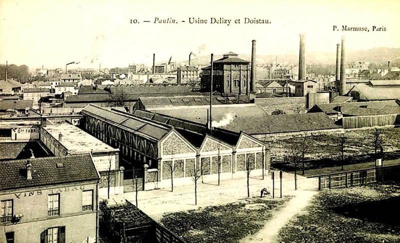 Distillerie Delizy Frères, puis Delizy et Doistau Fils, puis garage de réparation automobile et logement