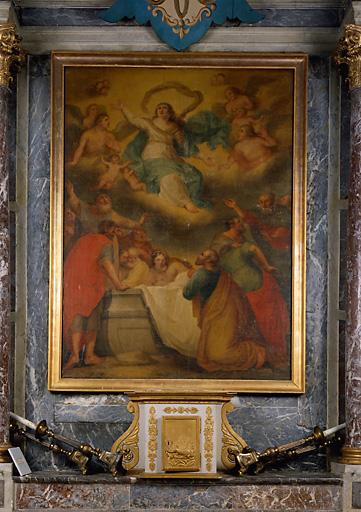 2 tableaux d'autel : l'), saint Nicolas