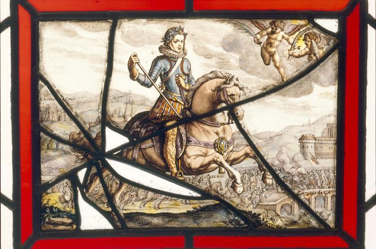 verrière : Louis XIII s'empare de la ville de Pont de Cé