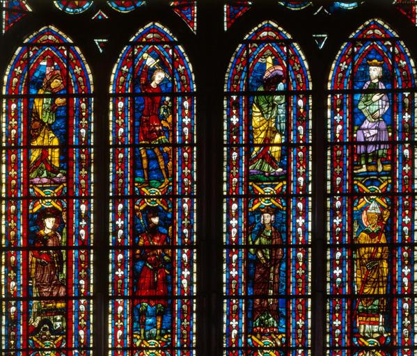 Verrière figurée : saints martyrs (baie 206)