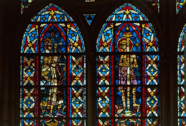 Verrière hagiographique : saint Savinien (baie 209)