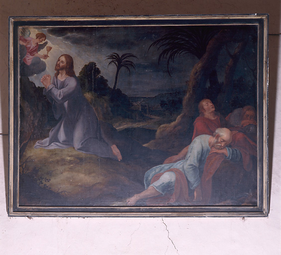 tableau : Le jardin des oliviers