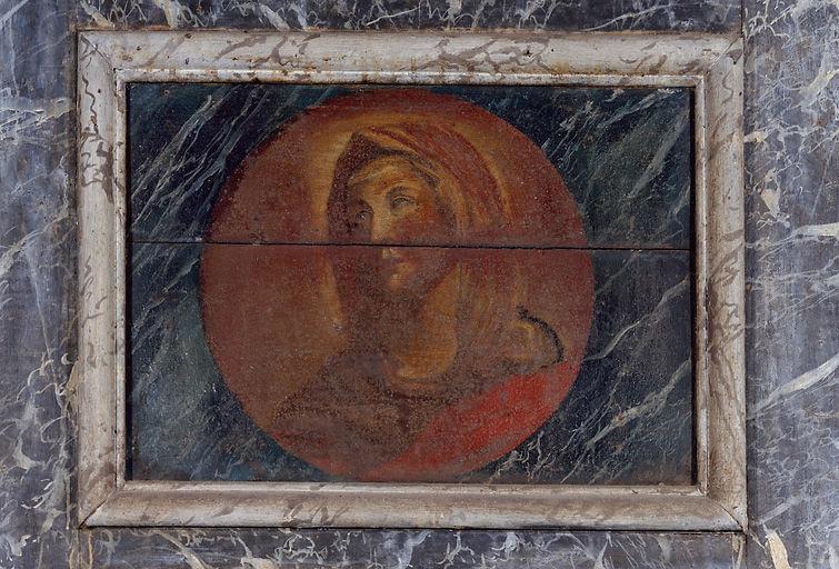 Autel, retable, tabernacle, 2 gradins d'autel (maître-autel)