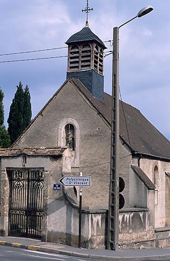 cimetière ; chapelle Saint-Laurent