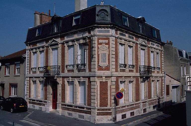 siège de presse : immeuble, imprimerie du journal L'Indépendant