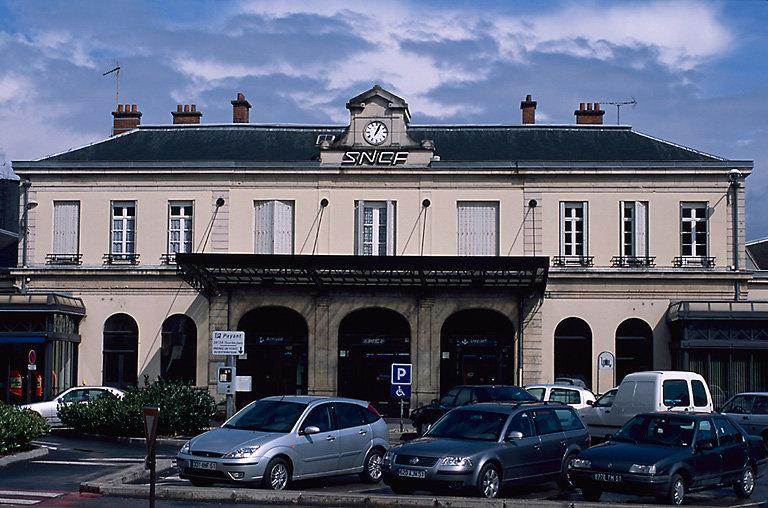 Gare de chemin de fer d'Epernay