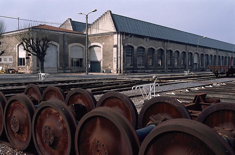 atelier de réparation des chemins de fer