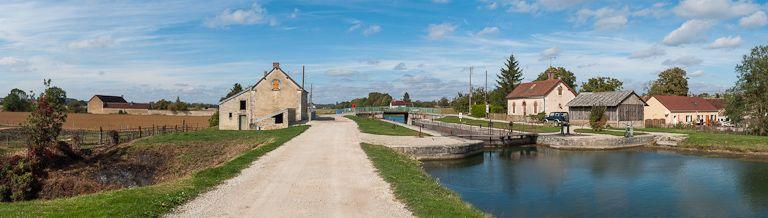 Site de l'écluse 99 du versant Yonne, dite de Charrey (canal de Bourgogne)