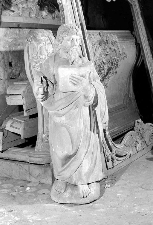 Statue (petite nature) : apôtre