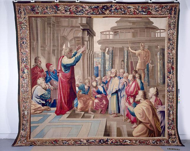 Pièce murale : Saint Paul prêchant à l'Aréopage