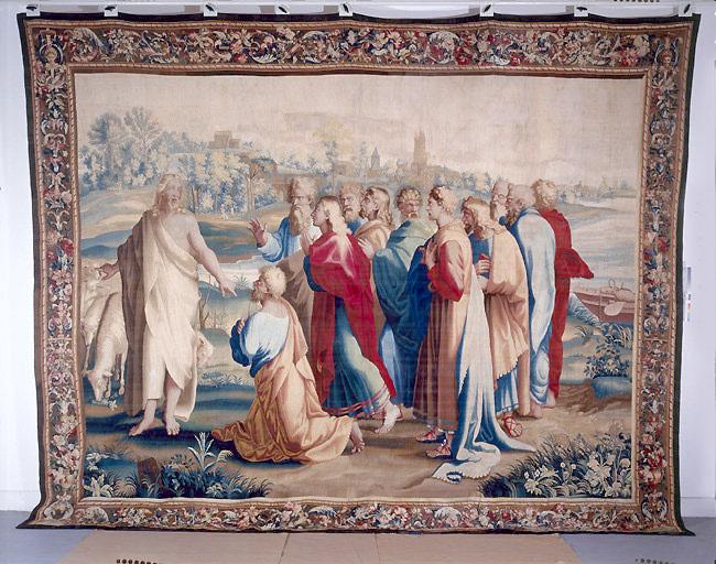 Pièce murale : La Vocation de saint Pierre