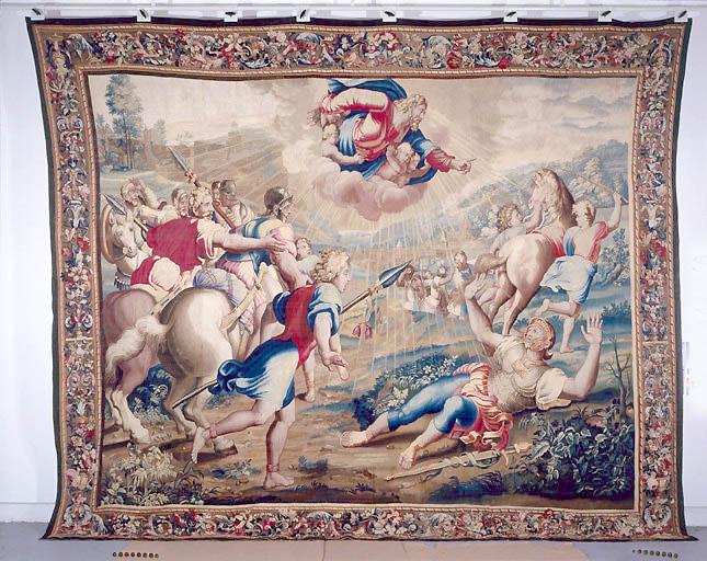 Pièce murale : La Conversion de saint Paul sur le chemin de Damas