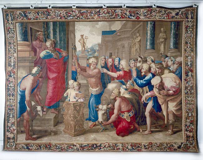 Pièce murale : Le Sacrifice de Lystres