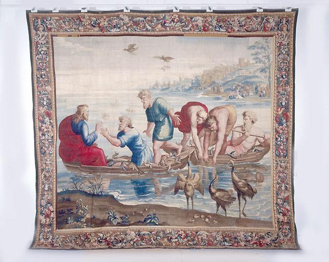 Pièce murale : La Pêche miraculeuse