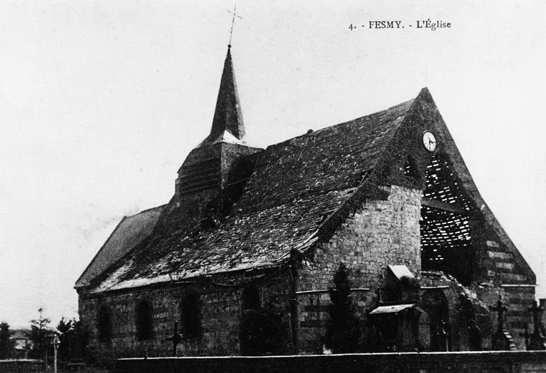 Eglise paroissiale Saint-Martin de Fesmy-le-Sart