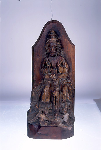 demi-relief : trône de gloire