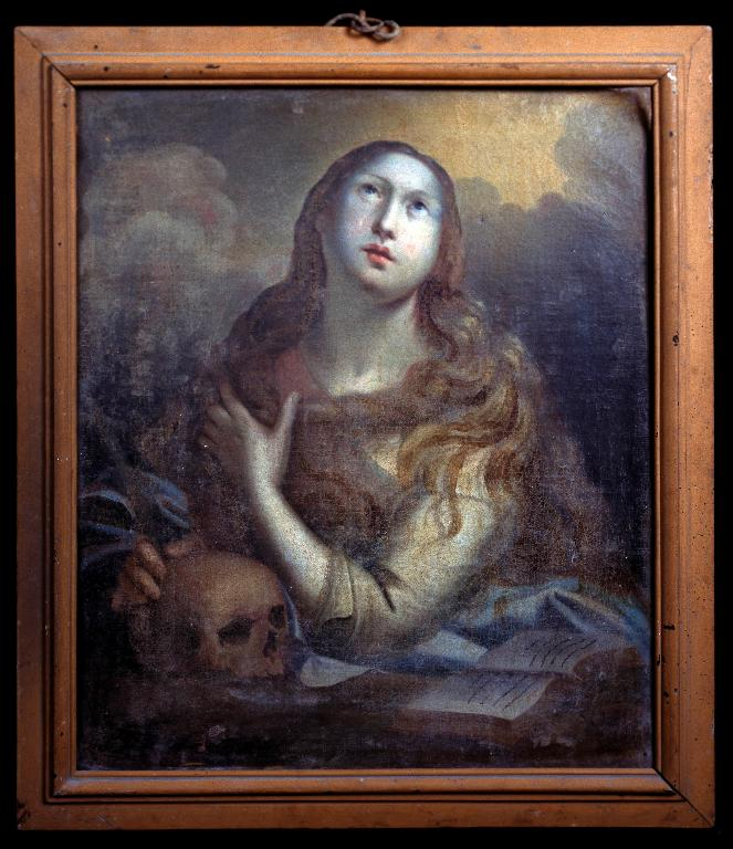 Tableau : Sainte Marie-Madeleine pénitente