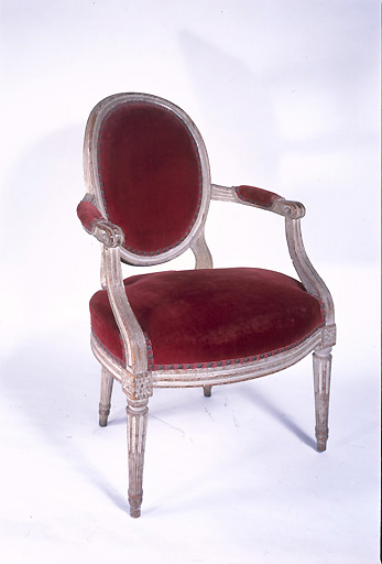 fauteuil (siège en cabriolet) (n° 3)