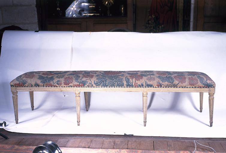 Garniture de siège d'une banquette (n° 2)