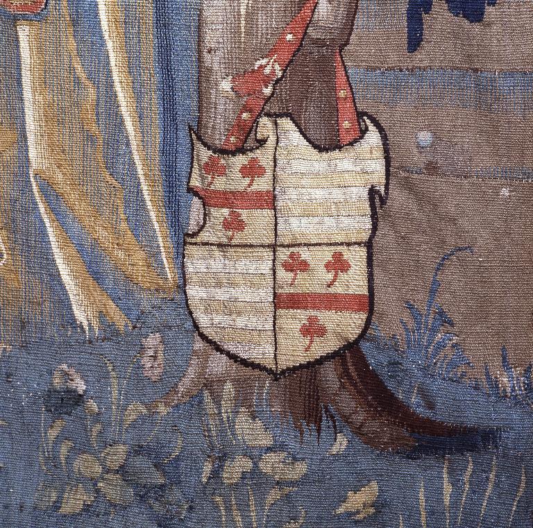 Pièce murale : Hercule de Libye, dixième roi des Gaules