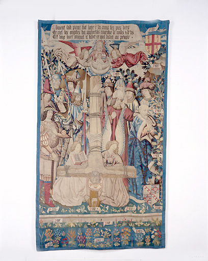 Pièce murale : La Crucifixion de saint Pierre
