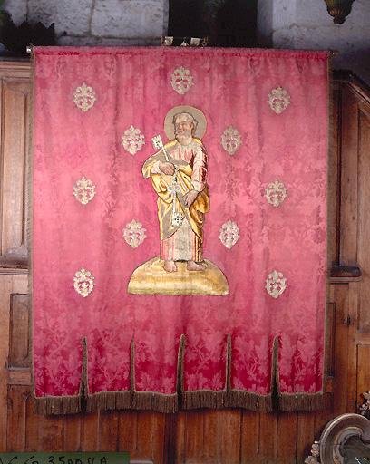 Bannière de procession : Saints Apôtres