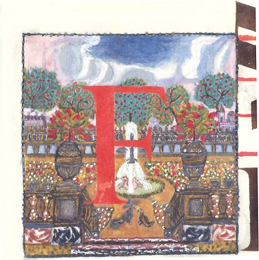 Manuscrit : Office de sainte Angadrême