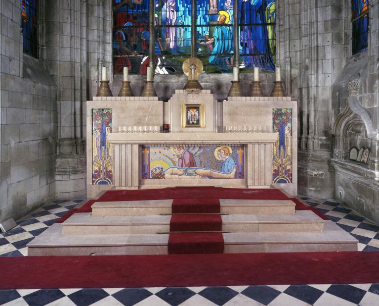 Maître-autel et tabernacle de style Art déco