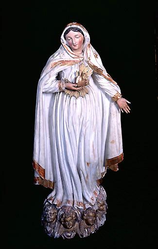 Statue (petite nature) : Vierge des sept Douleurs