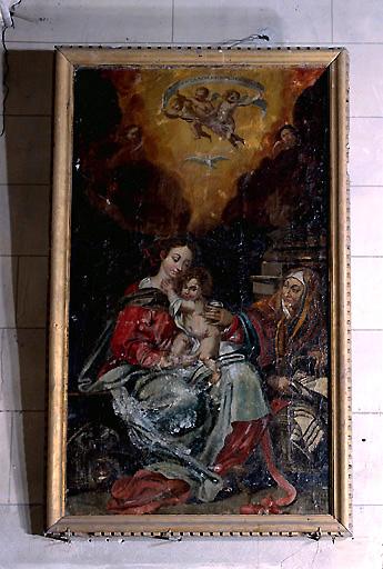 Tableau : Sainte Anne, la Vierge et l'Enfant Jésus