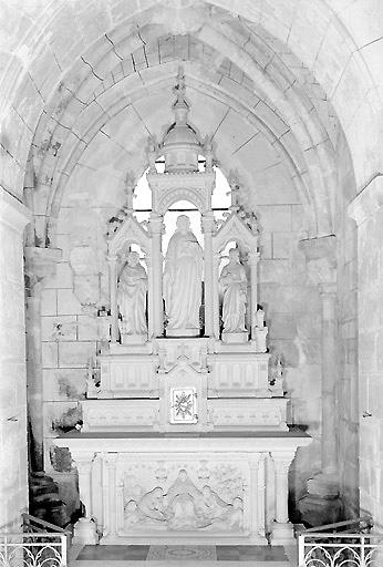 Autel secondaire du Christ du Sacré-Coeur