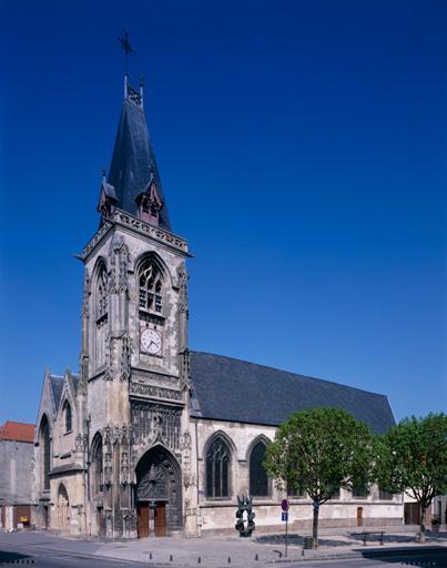 Ancien prieuré Saint-Lambert puis église paroissiale et ancien cimetière Saint-Leu d'Amiens