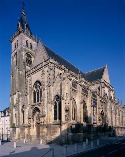 Ancienne église paroissiale et cimetière Saint-Germain-l'Ecossais d'Amiens