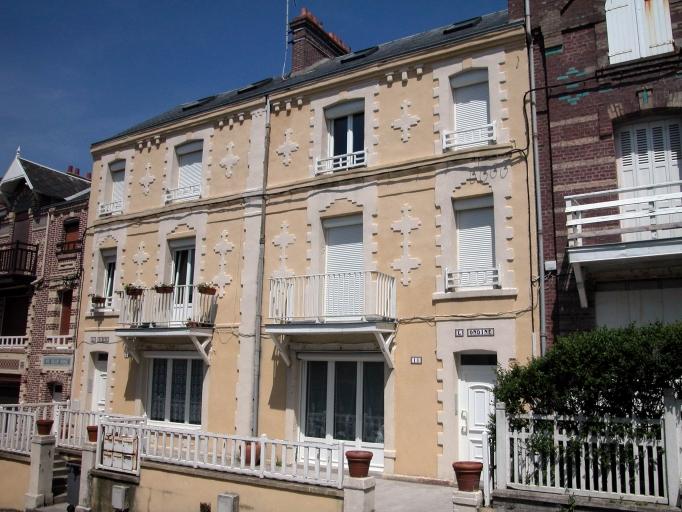 maison à deux logements dits La Nacelle et L'Ondine, actuellement La Sirène et L'Ondine