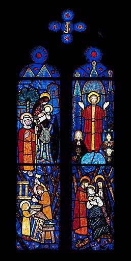 Verrière figurée : saint Joseph (baie 6)